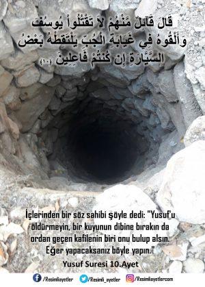 Yusuf Suresi  10 .Ayet