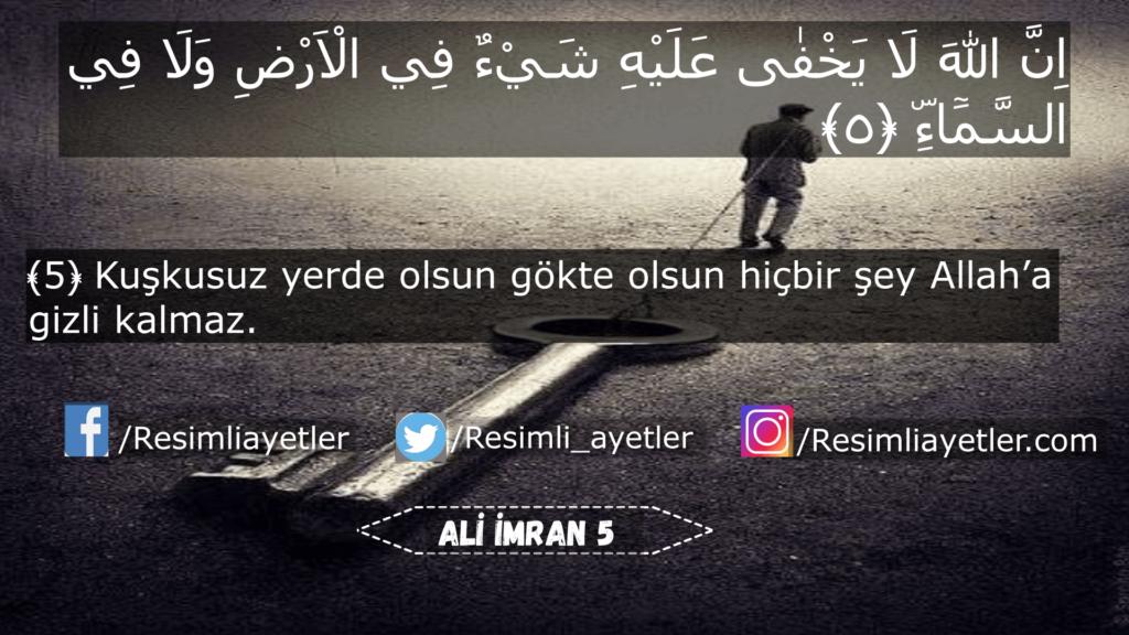 Ali İmran 5