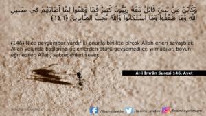 Âl-i İmrân Suresi 146. ayet