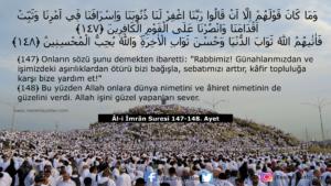 Âl-i İmrân Suresi 147-148. ayet