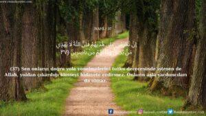 Nahl Suresi 37. ayet
