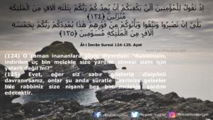 Âl-i İmrân Suresi 124-125. ayet