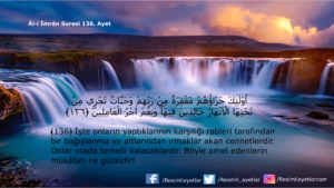Âl-i İmrân Suresi 136. ayet