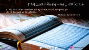 Âl-i İmrân Suresi 138. ayet