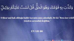 Enam Suresi 66. ayet