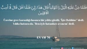 Enam Suresi 76. ayet