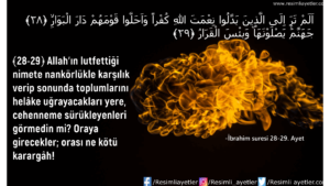 İbrahim Suresi 27. Ayet