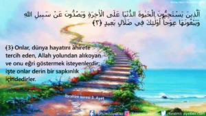 İbrahim Suresi 3. Ayet