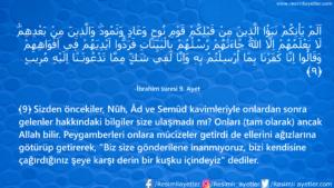 İbrahim Suresi 9. Ayet